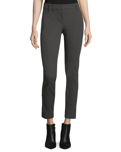Bi-Stretch Cotton Twill Leggings