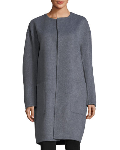 Reversible Wool Double-Face Coat