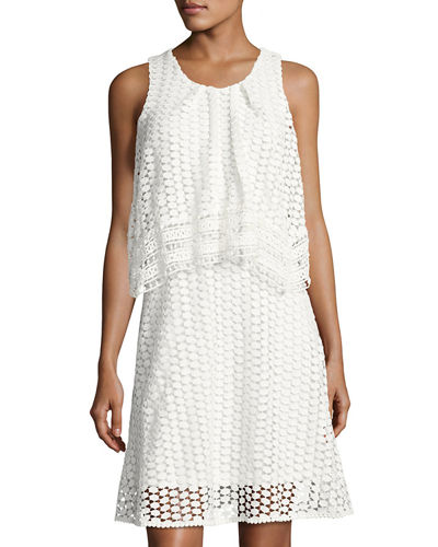Popover Lace Dress