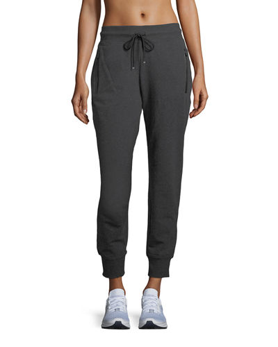 Zip-Pocket Joggers Sweatpants