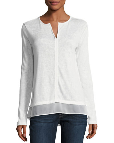 Center-Seamed Top