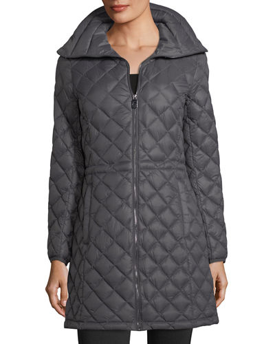 Packabe Diamond-Quilted Jacket