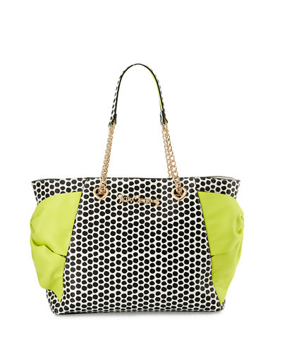 Hotty Pocket Bow Tote Bag