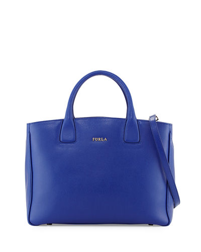 Camilla Medium Leather Tote Bag