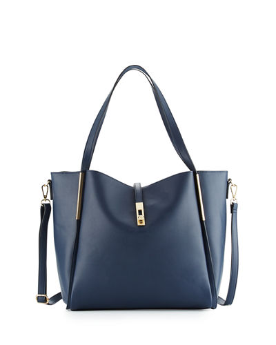 Abigail Faux Leather Tote Bag