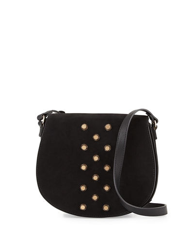 Studded Saddle Bag
