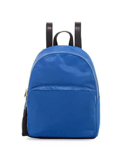 Harper Nylon Tassel Backpack