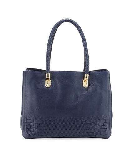 Benson Novelty Leather Tote Bag