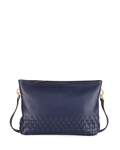 Benson Novelty Woven Crossbody Bag
