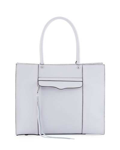 MAB Medium Leather Tote Bag