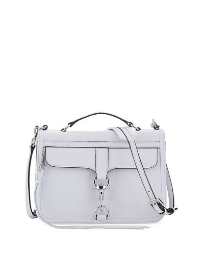 Bowery Leather Flap Crossbody Bag