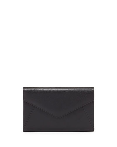 Embossed Envelope Wallet Clutch Bag