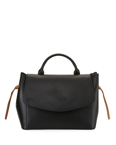 Ruga Leather Satchel Bag