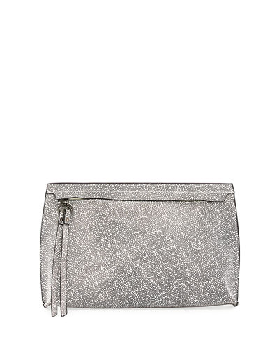 Corey Printed Large Clutch Bag
