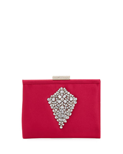 Candid Embellished Clutch Bag