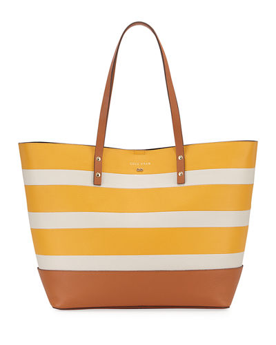 Beckett Striped Tote Bag