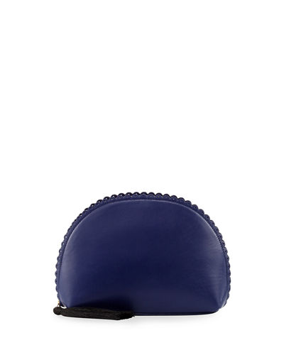 Emma Scalloped Dome Clutch Bag
