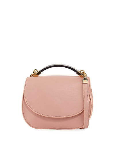 Gemma Faux-Leather Crossbody Bag