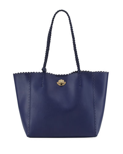 Emma Large Scallop Tote Bag