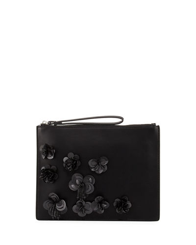 Lara Embellished Wristlet Clutch Bag