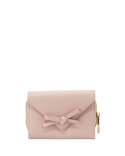 Bow Envelop Flap Wallet
