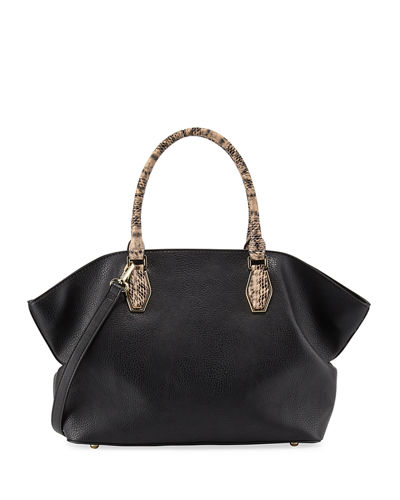 Gemma Exotic Satchel Bag