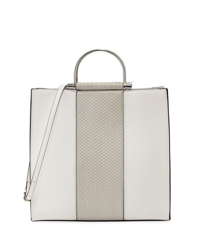 Paloma Metal Handle Tote Bag