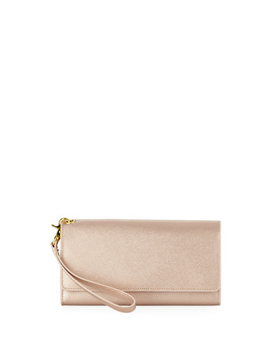 Large Saffiano Day Out Phone Wristlet