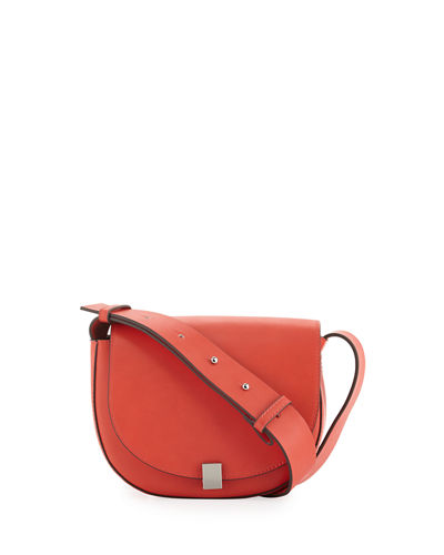 Claudia Full-Flap Crossbody Bag