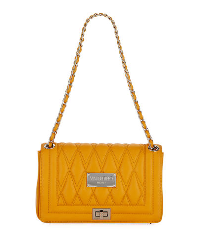 Alice Quilted Flap Shoulder Bag