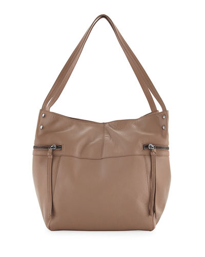 Marina Large Leather Tote Bag