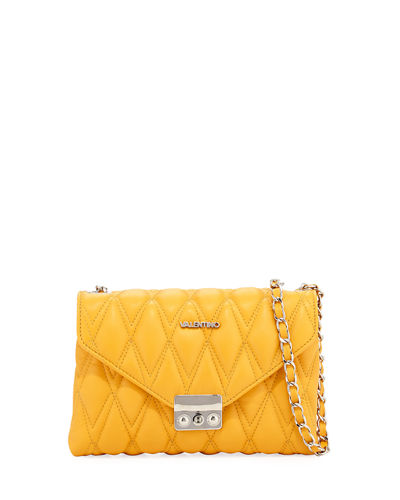 Isabelle Quilted Leather Crossbody Bag