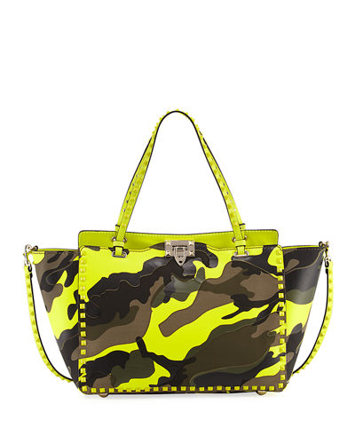 Small Camouflage Tote Bag