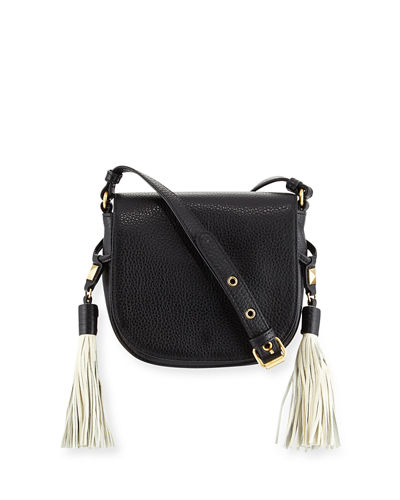 Bailey Pebbled Saddle Bag