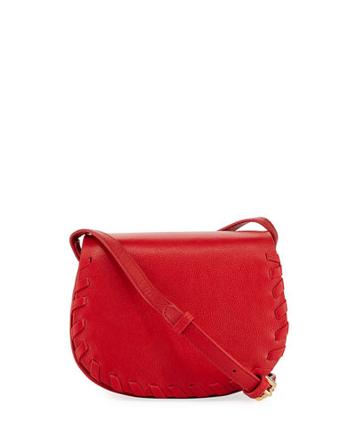 Madison Small Whipstitch Saddle Bag