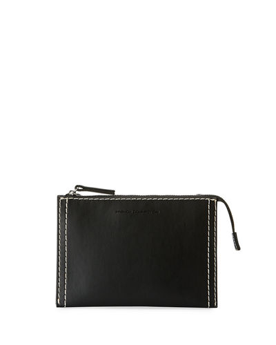 Fifi Topstitch Mini Crossbody Bag