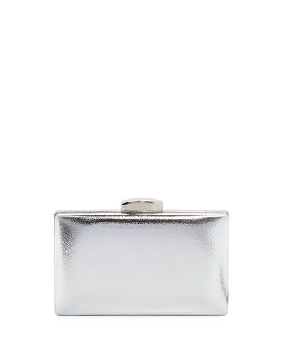 Leverage Metallic Clutch Bag