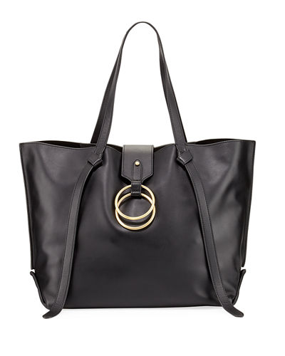 Campaign Leather Tote Bag