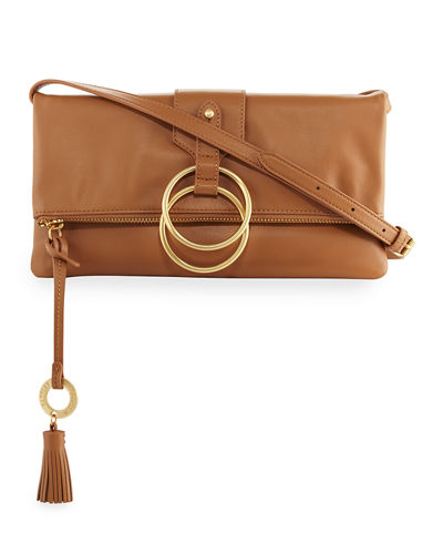 Campaign Fold-Over Clutch Bag