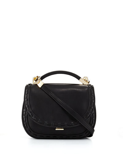 Gemma Lacing Small Saddle Bag