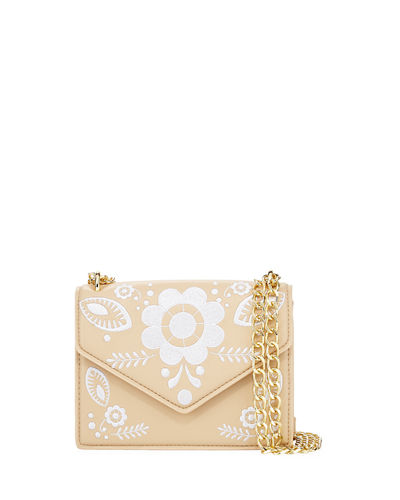 Felix Embroidered Crossbody Bag