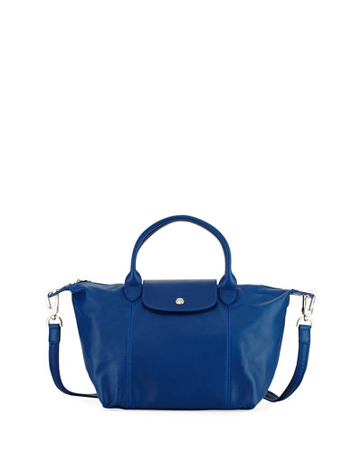 Large Leather Top Handle Bag