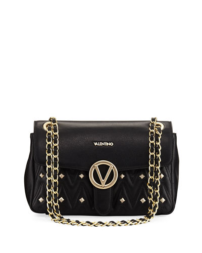 Alice Sauvage Quilted Flap Shoulder Bag