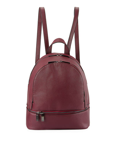 Saffiano Dual-Zip Backpack