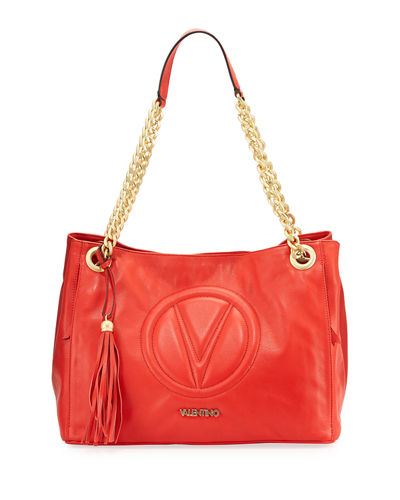 Verra Sauvage Leather Shoulder Bag