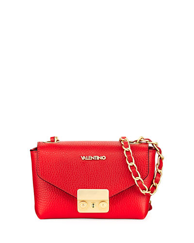 Lola Dollar Leather Shoulder Bag
