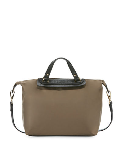 Bennett Nylon Satchel Bag