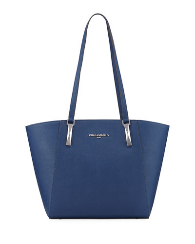 Suki Saffiano Leather Tote Bag