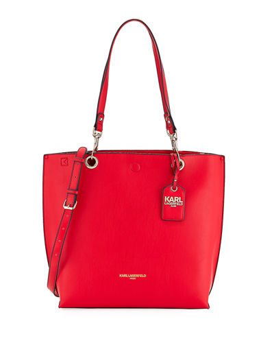 Bella Smooth Leather Tote Bag