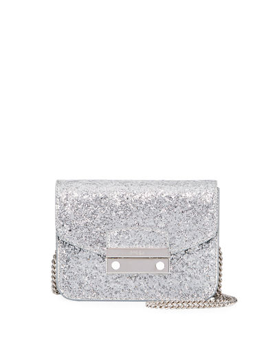 Julia Mini Glitter Crossbody Bag